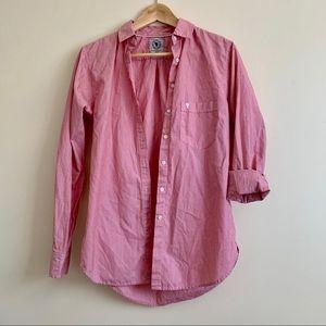 Aritzia Talula - Red Boyfriend Shirt - XSmall